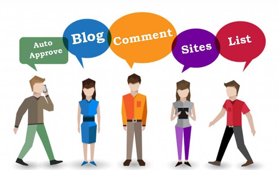 Auto-Approve-Blog-Comment-Sites-List