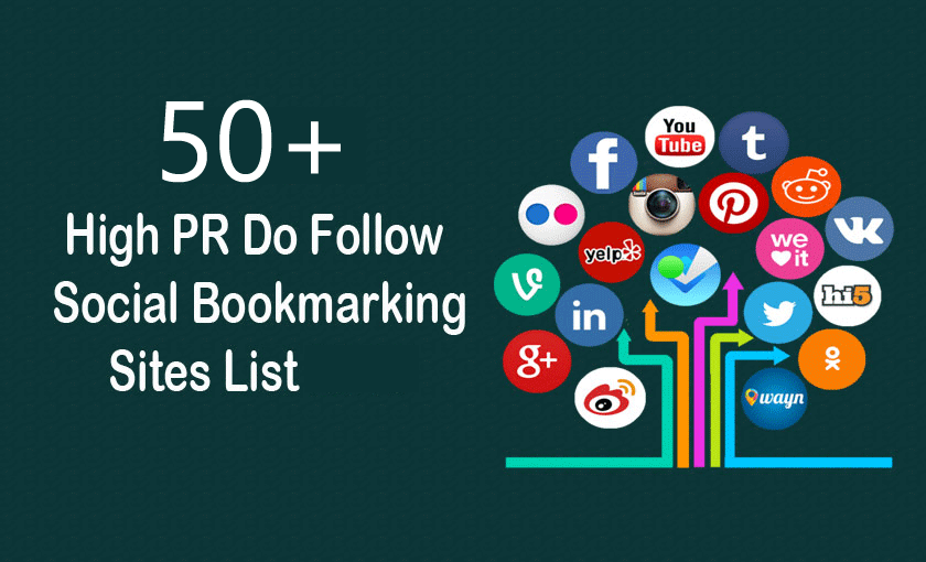 Social bookmarking sites list