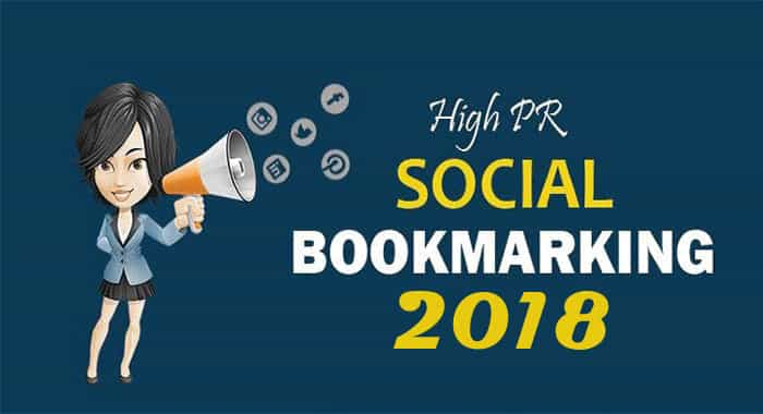 High PR Social Bookmarking Submission Sites